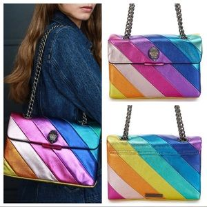 { Kurt Geiger } Kensington Rainbow Shoulder Bag